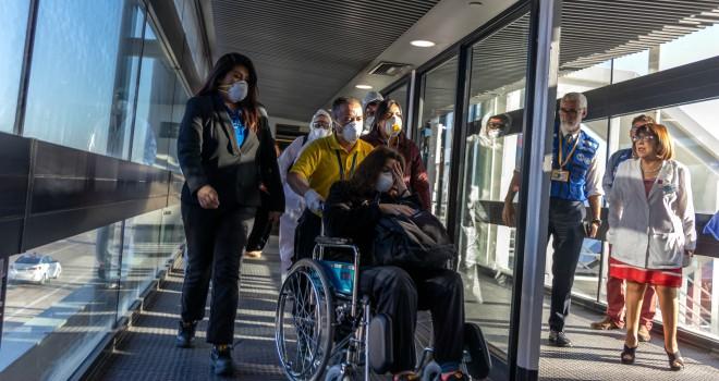 Seremi De Salud RM Y OPS Realizan Simulacro Por Persona Sospechosa Con Coronavirus En El Aeropuerto Arturo Merino Benítez