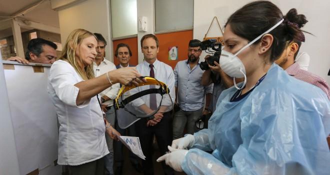 Subsecretario De Redes Asistenciales Supervisa Protocolos De Preparación De La Red De Atención Primaria En El Marco Del Plan De Acción Nuevo Coronavirus
