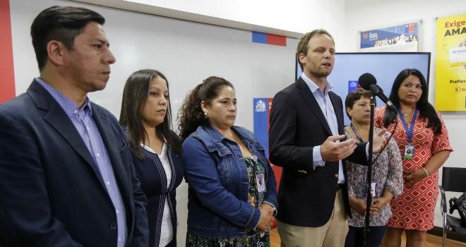 Subsecretario De Redes Asistenciales Se Reúne Con Gremios De La Salud Para Informar De Las Medidas Que Se Están Tomando Por Nuevo Coronavirus