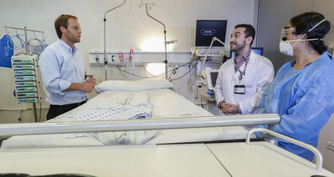 Subsecretario De Redes Asistenciales Supervisa La Preparación De La Red Hospitalaria Para Recibir Posibles Casos De Coronavirus