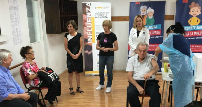 Subsecretaria De Salud Pública Supervisa Puntos De Vacunación Alternativos Para Adultos Mayores
