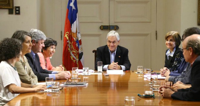 Presidente Piñera Se Reúne Con Consejo Asesor Del Minsal Por COVID-19