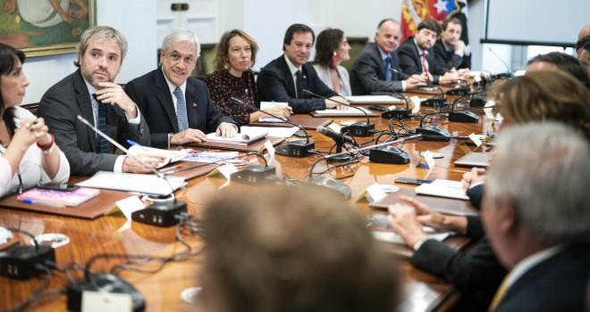 Presidente Piñera Convoca A Parlamentarios A Aprobar Los Proyectos De La Agenda Social