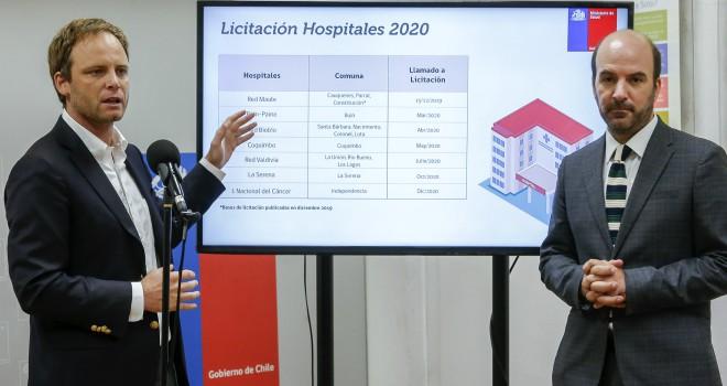 MINSAL Y MOP Anuncian Llamado A Licitación De 11 Nuevos Hospitales Durante El 2020