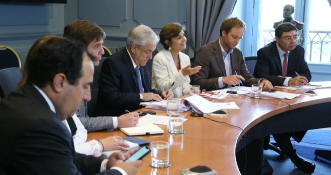 Presidente Piñera Junto A Autoridades De Salud Presentan A Intendentes Plan Para Enfrentar El Coronavirus