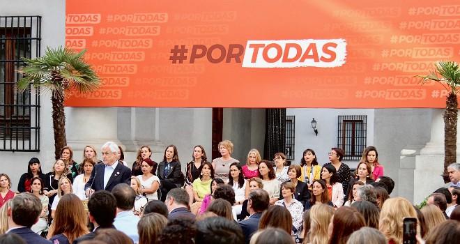 Conmemoración Día De La Mujer: Presidente Piñera Impulsa Dos Proyectos De Ley Contra La Violencia Y Para Proteger A Las Mujeres
