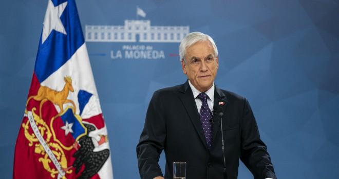 Presidente Sebastián Piñera Anunció Medidas Para Enfrentar El Covid-19