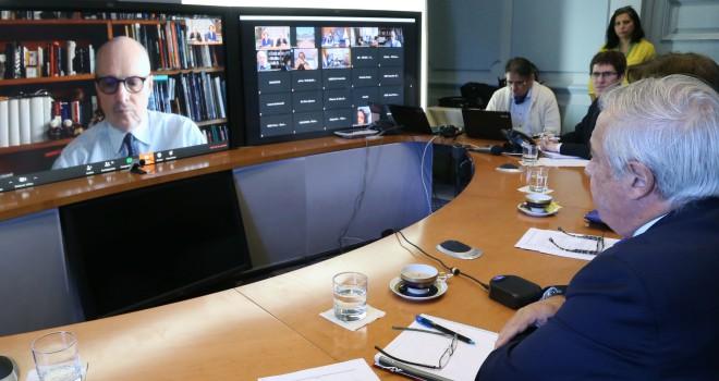 Expertos De Italia Y España Comparten Con Ministros De Salud Del Prosur Experiencia En Manejo De COVID-19