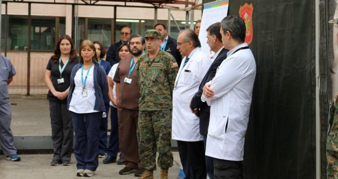 Dispositivo Médico Del Ejército Empezará A Funcionar En La Zona Norte De La Capital