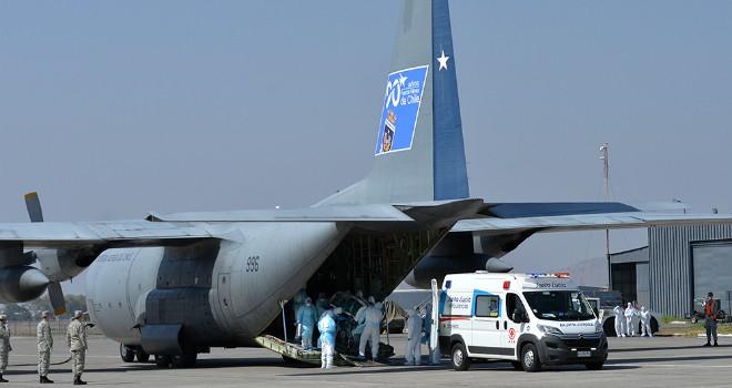 Fuerza Aérea Realizó Evacuación Aeromédica Desde Rapa Nui