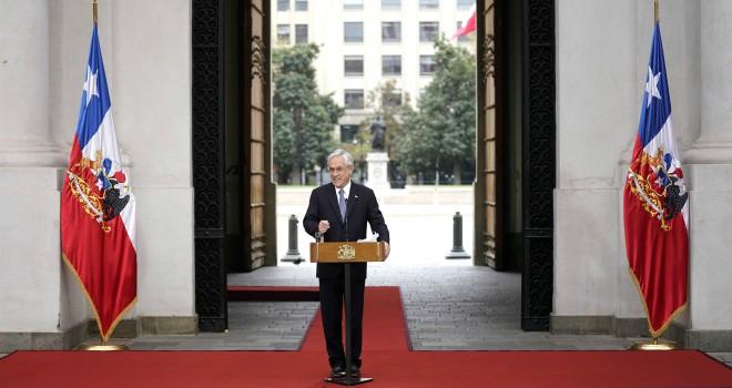 Presidente Piñera Anuncia Plan De Retorno Seguro
