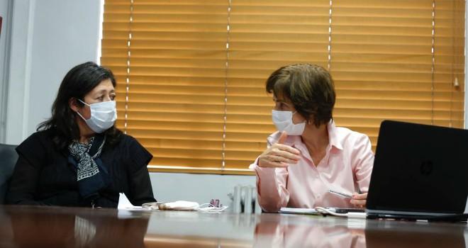 Autoridades De Salud Se Reúnen Con Alcaldes Para Coordinar Envío De Muestras De PCR