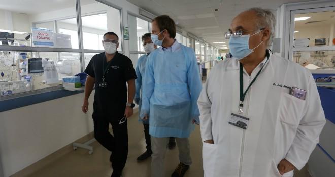 Subsecretario De Redes Asistenciales Destaca Aumento De Camas Críticas En Hospital De Iquique